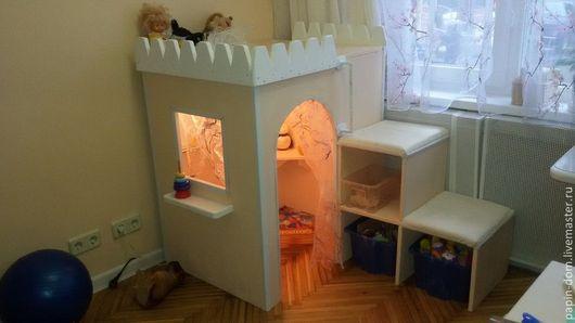 Детская ручной работы. Ярмарка Мастеров - ручная работа. Купить Детский игровой домик. Handmade. Мебель для детей, дерево, детский