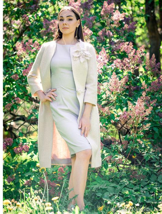 16d4763e5a8 Верхняя одежда ручной работы. Ярмарка Мастеров - ручная работа. Купить 387   Летнее пальто ...