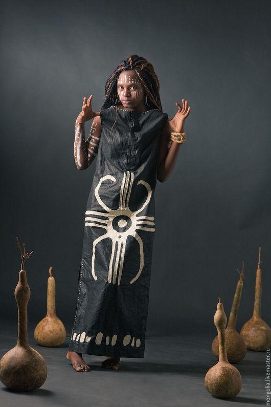 Платья ручной работы. Ярмарка Мастеров - ручная работа. Купить Платье Galactic. Handmade. Платье, льняное платье, черное платье