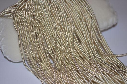 Вышивка ручной работы. Ярмарка Мастеров - ручная работа. Купить Канитель витая, Индия. Handmade. Золотой, канитель, материалы для вышивки