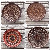 Для дома и интерьера ручной работы. Ярмарка Мастеров - ручная работа Тарелка-панно. Handmade.