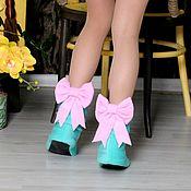 Обувь ручной работы handmade. Livemaster - original item Slippers boots. Handmade.