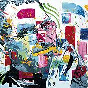 Картины и панно handmade. Livemaster - original item Steve Jobs portrait. Handmade.