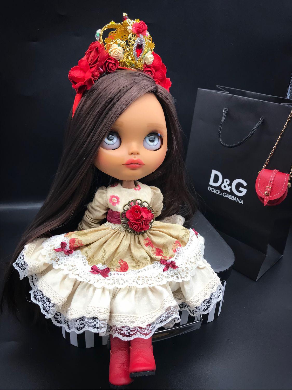 Блайз кукла blythe в стиле D&G, Шарнирная кукла, Санкт-Петербург,  Фото №1
