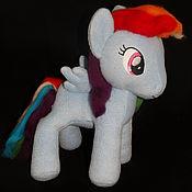 Куклы и игрушки ручной работы. Ярмарка Мастеров - ручная работа Мой маленький Пони. Рейнбоу Дэш (Rainbow Dash). Handmade.