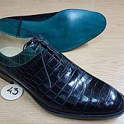 Обувь ручной работы. Ярмарка Мастеров - ручная работа Обувь из натуральной кожи крокодила. Handmade.