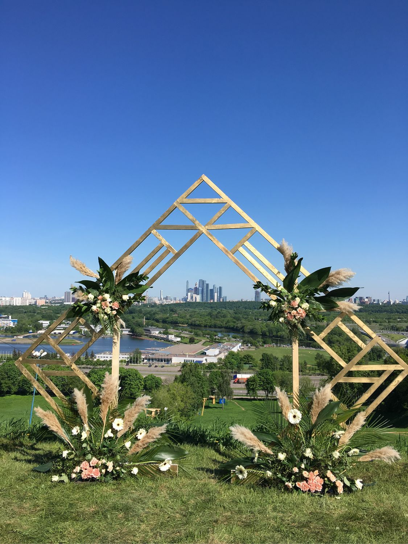 Выездная регистрация, Свадебные цветы, Москва, Фото №1