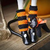 Куклы и игрушки ручной работы. Ярмарка Мастеров - ручная работа Рыжая Тильда-ведьмочка2. Handmade.