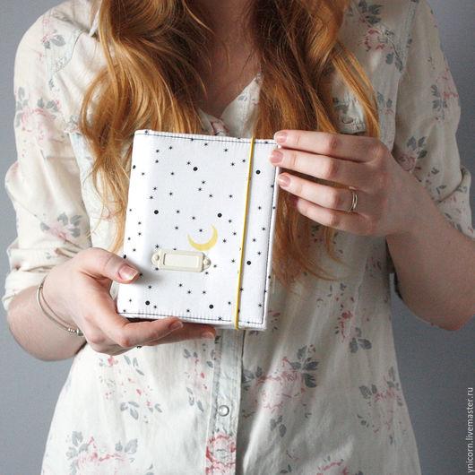 """Блокноты ручной работы. Ярмарка Мастеров - ручная работа. Купить Блокнот """"Ночное небо"""". Handmade. Блокнот ручной работы, подарок"""
