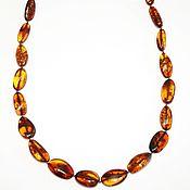 Работы для детей, handmade. Livemaster - original item Large beads made of natural amber.. Handmade.