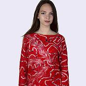 Sweaters handmade. Livemaster - original item Easy felted sweater