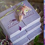 Косметика ручной работы handmade. Livemaster - original item Natural lavender soap