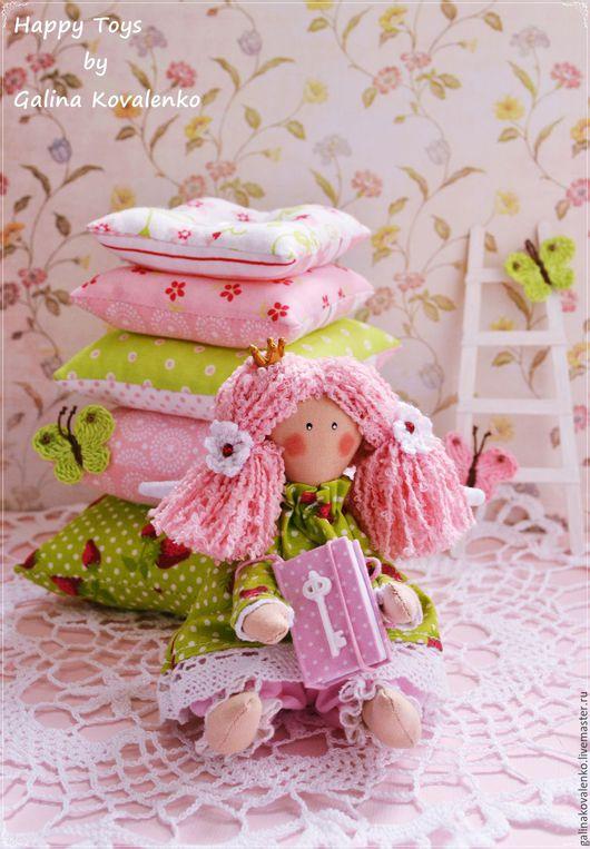 Куклы Тильды ручной работы. Ярмарка Мастеров - ручная работа. Купить Принцесса на горошине. Handmade. Принцесса на горошине, кукла в подарок