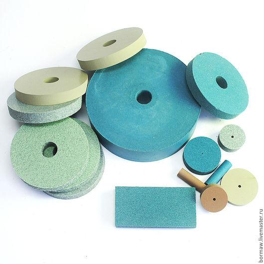 Другие виды рукоделия ручной работы. Ярмарка Мастеров - ручная работа. Купить Шлифовальные диски. Handmade. Разноцветные, дерево