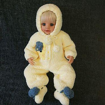 """Товары для малышей ручной работы. Ярмарка Мастеров - ручная работа Комплект для новорожденного """"Кошки-мышки"""". Handmade."""
