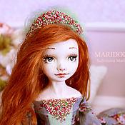 Куклы и пупсы ручной работы. Ярмарка Мастеров - ручная работа Хлоя подвижная кукла. Handmade.