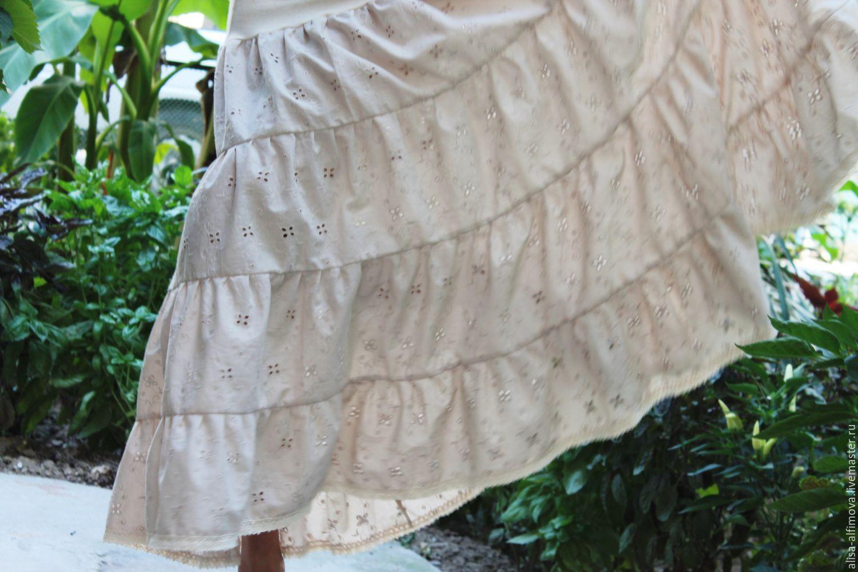 Шитье нижняя юбка