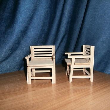 Dolls & toys handmade. Livemaster - original item doll chair. Handmade.