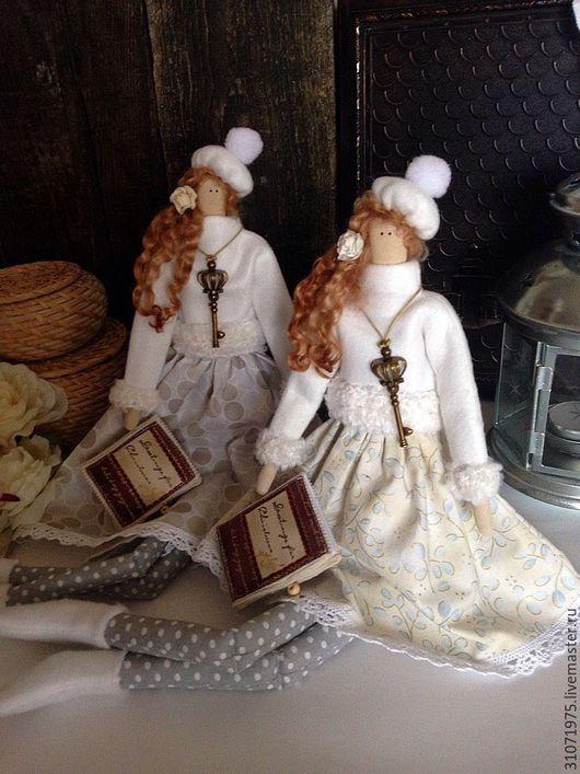 """Куклы Тильды ручной работы. Ярмарка Мастеров - ручная работа. Купить Кукла Тильда"""" Ключик от зимней стужи"""". Handmade. тильды"""