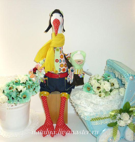 В НАЛИЧИИ  аист  младенец  новорожденному  новорожденной  новорожденному мальчику  новорожденной девочке  птица игрушка  подарок на свадьбу  сувениры и подарки  рождение ребёнка  рождение мальчика