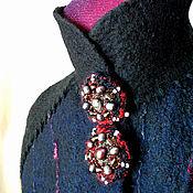 Одежда ручной работы. Ярмарка Мастеров - ручная работа Пальто Elise; валяние, на подкладе. Handmade.