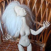 """Материалы для творчества ручной работы. Ярмарка Мастеров - ручная работа Видеоурок """"Скрытые суставы текстильной шарнирной куклы. Handmade."""