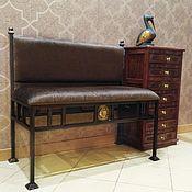 Для дома и интерьера handmade. Livemaster - original item Bench with backrest