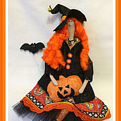 Куклы и игрушки handmade. Livemaster - original item Witch and Halloween. Handmade.