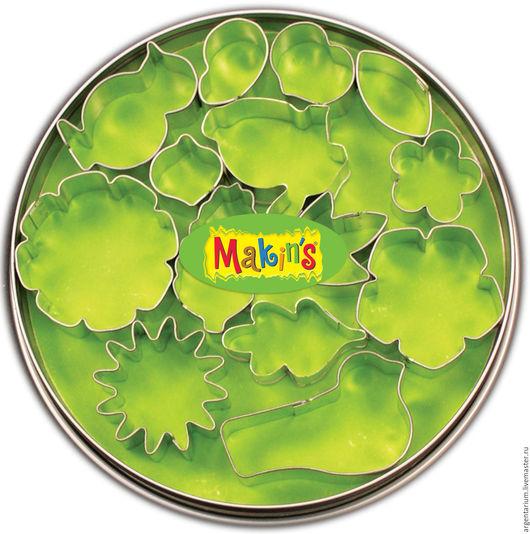 Для украшений ручной работы. Ярмарка Мастеров - ручная работа. Купить Набор 15 каттеров: растения. Handmade. Серебряный, каттеры