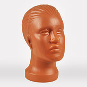Материалы для творчества handmade. Livemaster - original item Manikin head female red. Handmade.