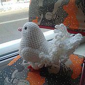 Куклы и игрушки ручной работы. Ярмарка Мастеров - ручная работа Белый голубь. Handmade.