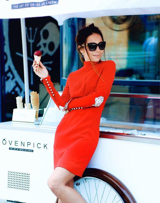 Платья ручной работы. Ярмарка Мастеров - ручная работа. Купить Платье Ред Артикул 30007. Handmade. Ярко-красный
