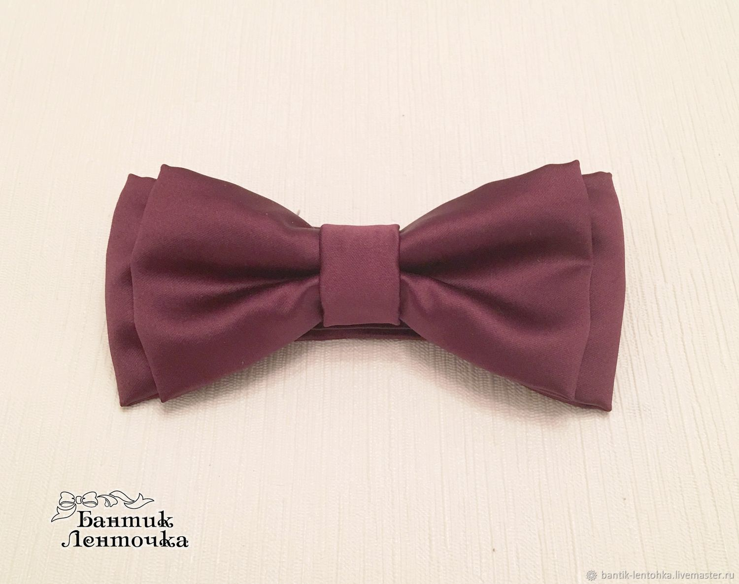Tie for the groom 'Marsala', Ties, Moscow,  Фото №1