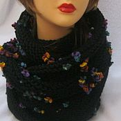 Аксессуары handmade. Livemaster - original item Snood SCARF KNITTED warm winter. Handmade.