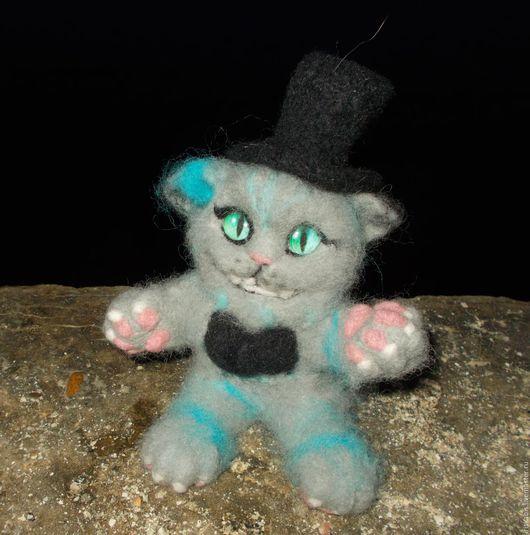 Куклы и игрушки ручной работы. Ярмарка Мастеров - ручная работа. Купить Чеширский кот маленький. Handmade. Подарок на любой случай