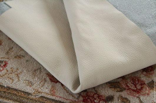 Шитье ручной работы. Ярмарка Мастеров - ручная работа. Купить П52 Ravenus White Большие куски 1670 грамм 1.7мм. КРС Натуральная кожа. Handmade.
