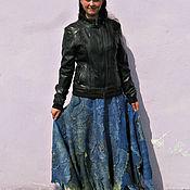 Одежда handmade. Livemaster - original item Felted skirt