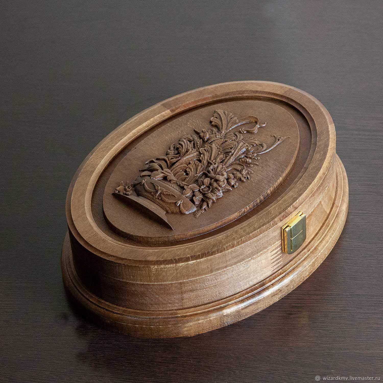 Caskets made of beech with a raised lid, Box, Pyatigorsk,  Фото №1