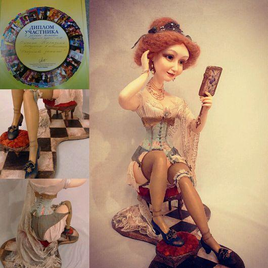 """Коллекционные куклы ручной работы. Ярмарка Мастеров - ручная работа. Купить Интерьерная кукла """"Любите , Женщины, себя !"""". Handmade."""