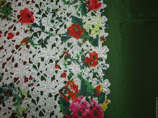 Шитье ручной работы. Ярмарка Мастеров - ручная работа. Купить Кружево цветное арт.50 КР-11(Китай). Handmade. Белый