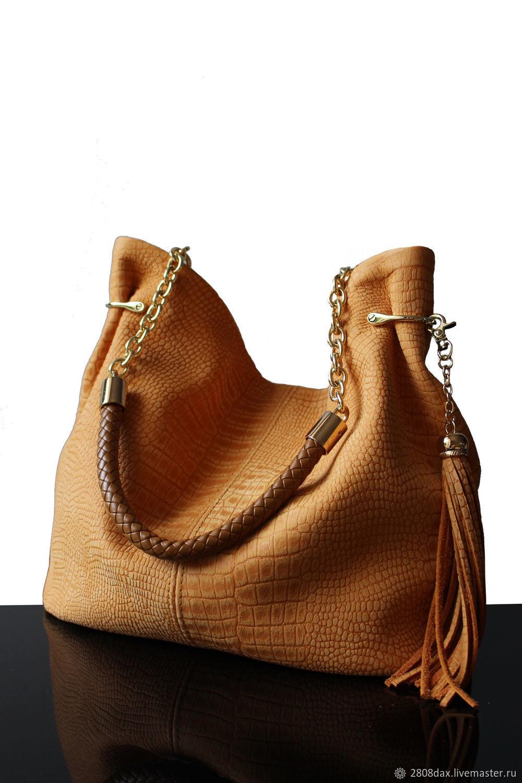 Handbags handmade. Livemaster - handmade. Buy 'Granville Yellow ' suede bag.Yellow, yellow handbag, suede