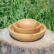 Для дома и интерьера handmade. Livemaster - original item Wooden Plates (3#2. Handmade.