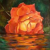 """Картины и панно ручной работы. Ярмарка Мастеров - ручная работа Картина """"Вдыхая нежный аромат"""". Handmade."""