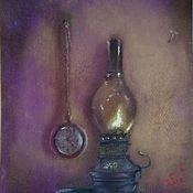 Картины и панно handmade. Livemaster - original item Dry pastel painting