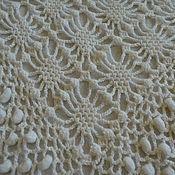 Аксессуары handmade. Livemaster - original item White lace shawl-scarf. Handmade.