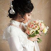 """Одежда ручной работы. Ярмарка Мастеров - ручная работа Свадебное/венчальное платье """"Трепет души моей"""". Handmade."""