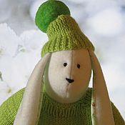 Куклы и игрушки ручной работы. Ярмарка Мастеров - ручная работа Игрушка тильда Заяц Подарок малышу. Handmade.