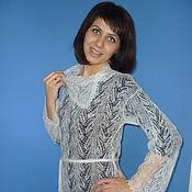 Одежда handmade. Livemaster - original item 128 dress duvet knitted, clothes, dresses knitted. Handmade.