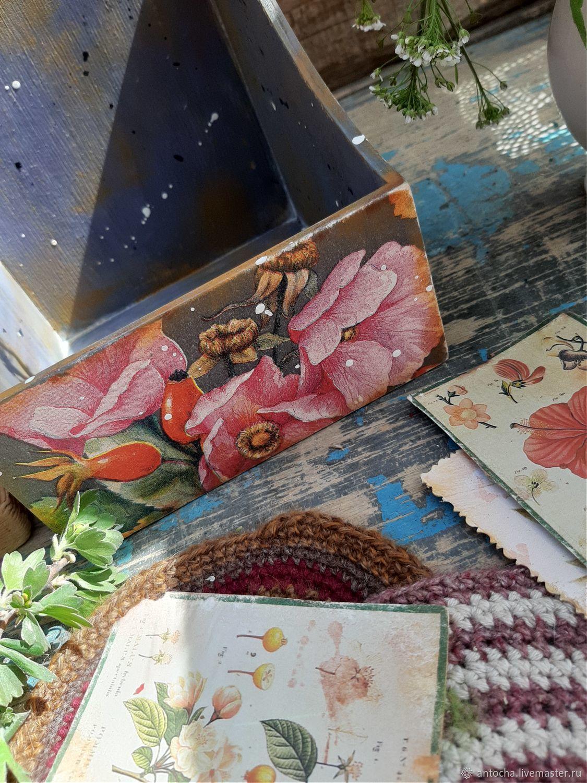 """Мой сад.Шиповник"" сухарница, конфетница, короб, Конфетницы, Астрахань,  Фото №1"