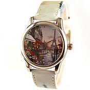 Украшения ручной работы. Ярмарка Мастеров - ручная работа Дизайнерские наручные часы Paris: Rue de Paris, temps de pluie. Handmade.